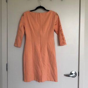 ANTONIO MELANI Dresses - Antonio Melani 3/4 Length Sleeve Dress - Peach